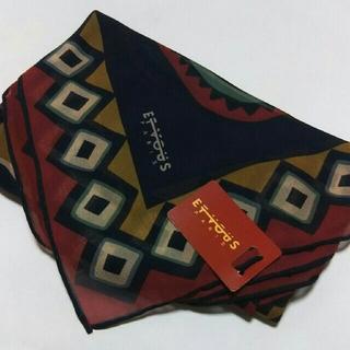 エヴー(et vous)の値下げ📌ETVOUS  Paris☆シルク100%スカーフ(バンダナ/スカーフ)