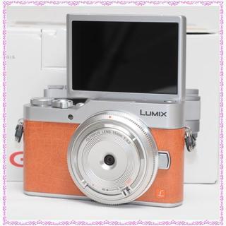 パナソニック(Panasonic)の週末sale✨新品・LUMIX GF9 ボディキャップレンズset✨Wifi(ミラーレス一眼)