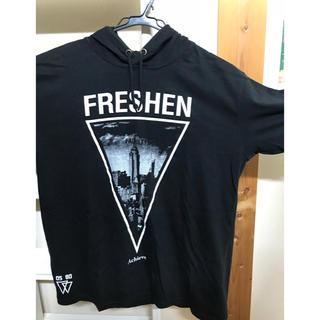 ウーム(WOmB)の本日処分!!  WOmB  フード付きTシャツ (Tシャツ/カットソー(半袖/袖なし))