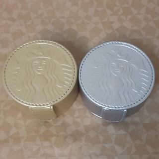 スターバックスコーヒー(Starbucks Coffee)の2個セット  スタバ コインチョコ シルバー と ゴールド(菓子/デザート)