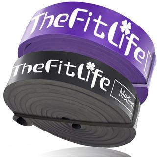 TheFitLife トレーニングチューブ スーパーハード 天然ラテックス製 (トレーニング用品)
