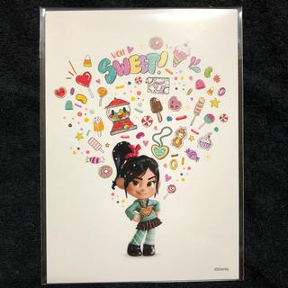 ディズニー(Disney)のシュガーラッシュ オンライン ムビチケ 特典 ヴァネロペ アナ ジャスミン(キャラクターグッズ)