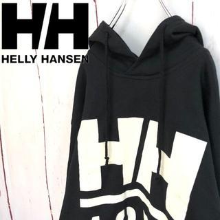 ヘリーハンセン(HELLY HANSEN)の☆新品 USA製 ヘリーハンセン プルオーバー ビッグパーカービッグロゴ ☆(パーカー)