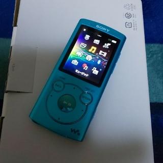 ウォークマン(WALKMAN)のSONY WALKMAN NW-s764 8GB ブルー(ポータブルプレーヤー)