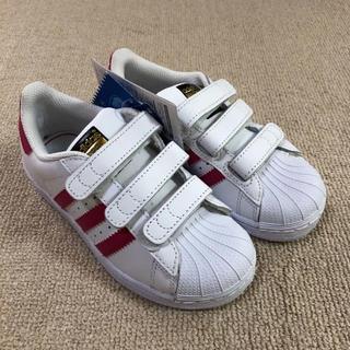 新品  adidas アディダス スーパースター 18㎝ キッズ
