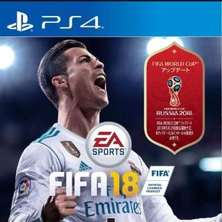 プレイステーション(PlayStation)のps4 FIFA 18(家庭用ゲームソフト)