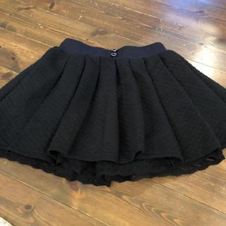 シマムラ(しまむら)のしまむら  黒スカート150(スカート)