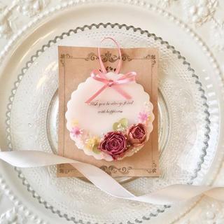 mini plate rose ※アロマワックス(アロマ/キャンドル)