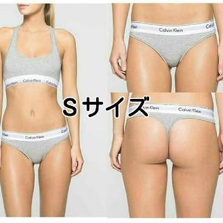 カルバンクライン(Calvin Klein)の週末値下げ! Tバック Sサイズ カルバンクライン セット ブラ&ショーツ(ブラ&ショーツセット)