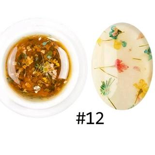 【新品・未使用】#12:フラワージェルネイル(カラージェル)
