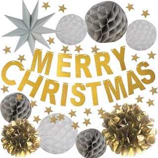 クリスマス ♡北欧風♡パーティ 飾り デコレーション セット (モビール)