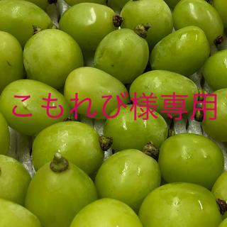 秀品 長野県産 シャインマスカット 1キロ 粒(フルーツ)
