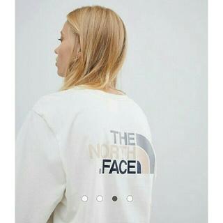 THE NORTH FACE - 【新品】The North Face 長袖 Tシャツ M~L アイボリー