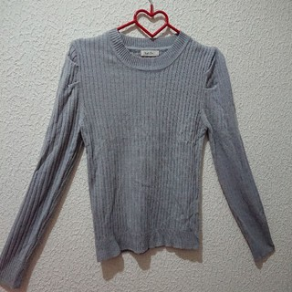 シマムラ(しまむら)のグレー  ニット♥️Mサイズ GU しまむら(ニット/セーター)