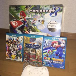 Wii U - Wiiu 本体 ソフト コントローラー 大乱闘 マリオテニス