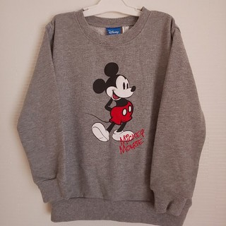 ディズニー(Disney)の【新品タグ付き】120 ミッキー  トレーナー Disney (Tシャツ/カットソー)