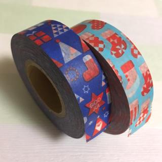 スリーコインズ(3COINS)のクリスマス マスキングテープ (テープ/マスキングテープ)
