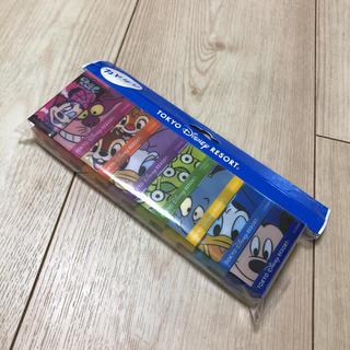 ディズニー(Disney)のディズニー カドケシ 8個セット(消しゴム/修正テープ)