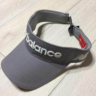 ニューバランス(New Balance)のニューバランスゴルフ サンバイザー(サンバイザー)
