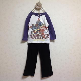 リトルベアークラブ(LITTLE BEAR CLUB)の2枚セットリトルベアークラブ&スキップランドパンツ★フェリシモしまむら好きに♪(Tシャツ/カットソー)