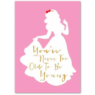 ディズニー(Disney)の【新品未使用】プリンセス 白雪姫 アートポスター A4 額つき(アート/写真)