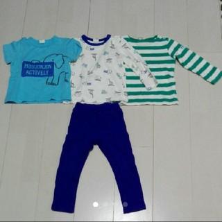 ムージョンジョン(mou jon jon)のMou jon jon(ムージョンジョン)T シャツ&パンツ4枚セット(Tシャツ/カットソー)