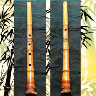 【美品】 尺八 琴古流 在銘 遠藤晏弘 2.0尺管 ◆調律管◆【迅速発送】