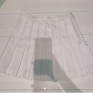 アメリカンアパレル(American Apparel)のアメアパ テニススカート ホワイト(ミニスカート)