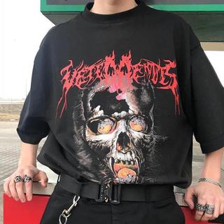 バレンシアガ(Balenciaga)のvetements skull tee (Tシャツ/カットソー(半袖/袖なし))