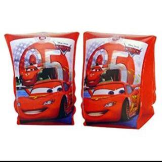 ディズニー(Disney)の中古 cars アームリング 腕 浮き輪 プール カーズ 子供 アームバンド(マリン/スイミング)