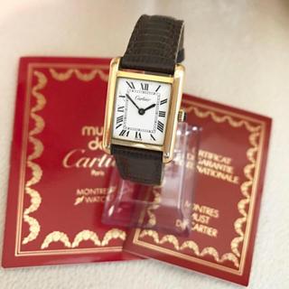 カルティエ(Cartier)のらくてん様(腕時計)