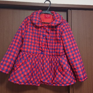 ムージョンジョン(mou jon jon)の女児130可愛いジャンパー(ジャケット/上着)