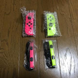 ニンテンドースイッチ(Nintendo Switch)のジョイコン ネオンピンク ネオンイエロー 新品 スイッチ Joy-Con(家庭用ゲーム本体)