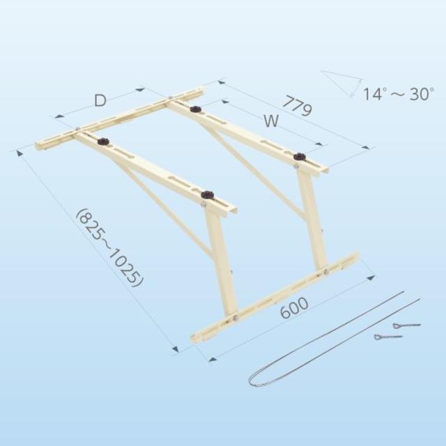 クーラーキャッチャー goシリーズ 傾斜屋根直角置用 C-LG その他のその他(その他)の商品写真