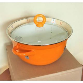 EJIRY ホーロー多用鍋 サマンサ(鍋/フライパン)