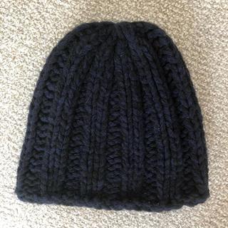 ロンハーマン(Ron Herman)のロンハーマン ニット帽 ネイビー(ニット帽/ビーニー)