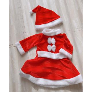 クリスマス サンタ ベビー 女の子 80cm(その他)