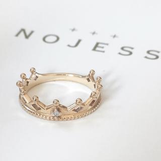 ノジェス(NOJESS)のクラウンピンキーリング(リング(指輪))