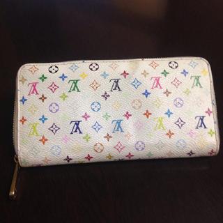 ルイヴィトン(LOUIS VUITTON)のルイヴィトン モノグラムマルチカラー 長財布(財布)