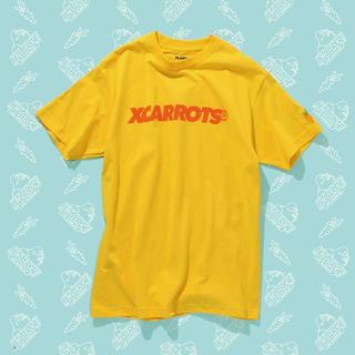 エクストララージ(XLARGE)のxlarge x carrots tシャツ 半袖 黄色 イエロー(Tシャツ/カットソー(半袖/袖なし))