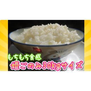 新米30年姫ごのみ、ミルキークイーンのような食感!精米24kgの出品。精米無料(米/穀物)