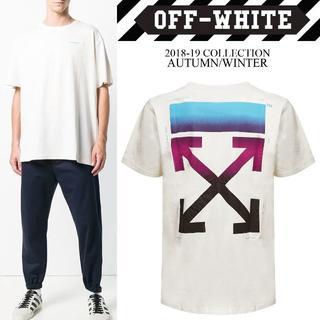 オフホワイト(OFF-WHITE)の1 OFF-WHITE 18aw GRADIENT S/S Tシャツ M(Tシャツ/カットソー(半袖/袖なし))