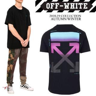 オフホワイト(OFF-WHITE)の2 OFF-WHITE 18aw GRADIENT S/S Tシャツ S(Tシャツ/カットソー(半袖/袖なし))
