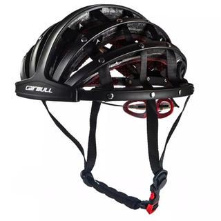 カスク風 自転車用 折りたたみヘルメット ランドナー