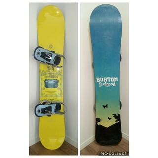 BURTON - バートン3点セット スノーボード 板&ビンディング&ケース