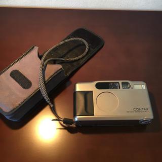 キョウセラ(京セラ)のCONTAX T2  チタンシルバー(フィルムカメラ)