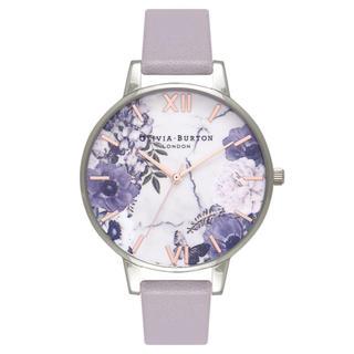 ダニエルウェリントン(Daniel Wellington)のオリビアバートン Flower 38ミリ パープル(腕時計)