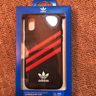 アディダス(adidas)のiPhone xs携帯カバー(iPhoneケース)