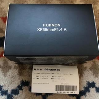 富士フイルム - 新品未開封 富士フィルム XF35mm F1.4R メーカー保証1年