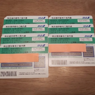 エーエヌエー(ゼンニッポンクウユ)(ANA(全日本空輸))のANA株主優待券(航空券)